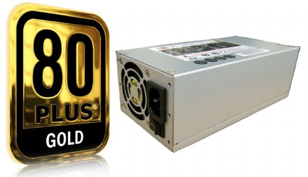 ATNG 600W 2U Power Supply 80+ Gold + Bracket